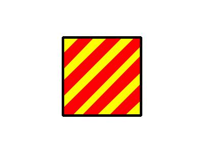 Signalflag Yankee Symbol