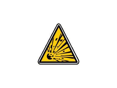 MatieresExplosives Symbol