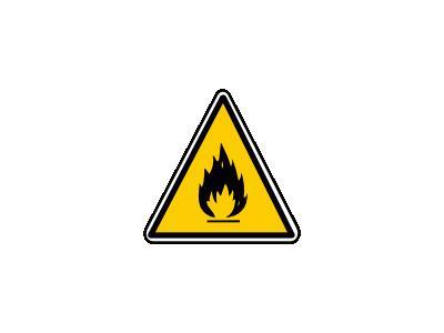 MatieresInflammables Symbol