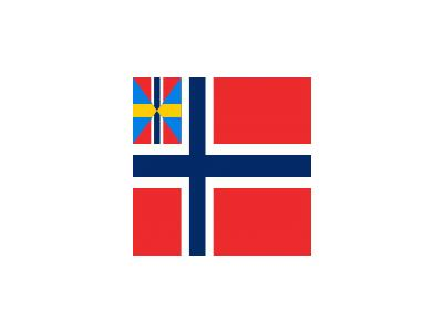 Norwegian Union Flag Fed 01 Symbol