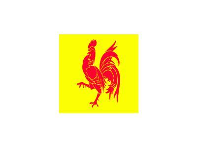 Belgium Walloon Symbol