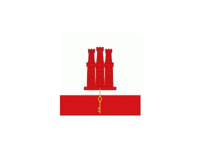 Uk Gibraltar Symbol