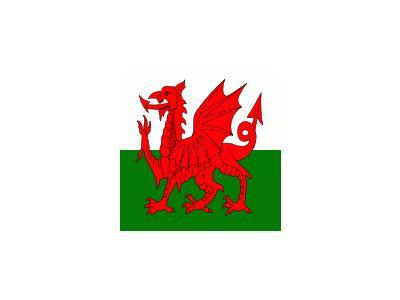 UK WALES Symbol
