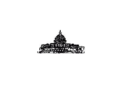 Us Capitol Building Ink 01 Symbol