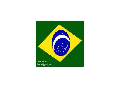 Flag Brazil Crystal Feli 01 Symbol