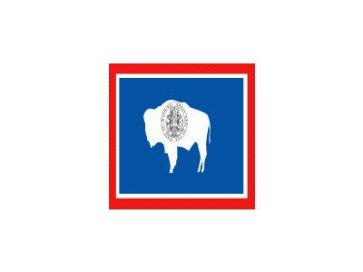 Usa Wyoming Symbol