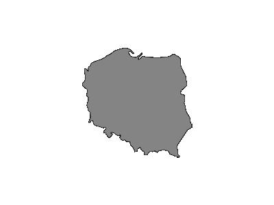 Map Of Poland Guziec  Symbol