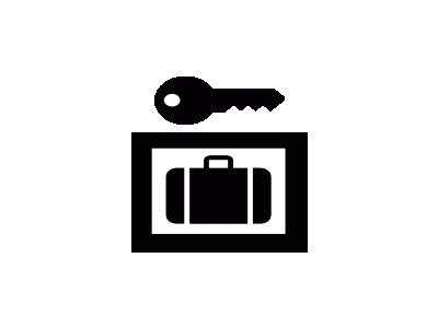 Aiga Baggage Lockers  Symbol