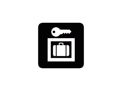 Aiga Baggage Lockers1 Symbol