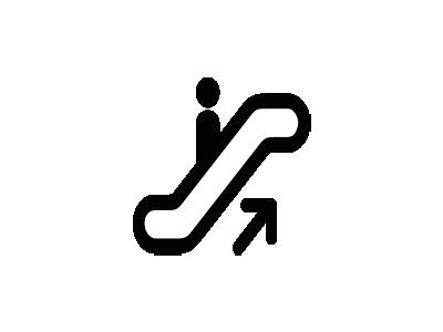 Aiga Escalator Up  Symbol
