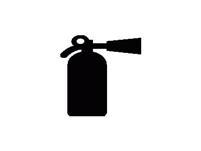 Aiga Fire Extinguisher  Symbol