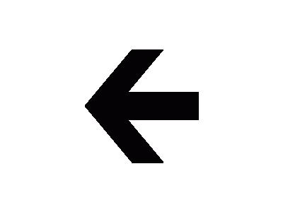 Aiga Left Arrow  Symbol