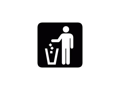 Aiga Litter Disposal1 Symbol