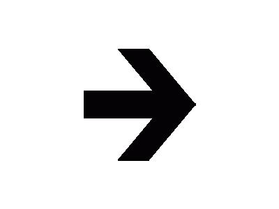 Aiga Right Arrow  Symbol