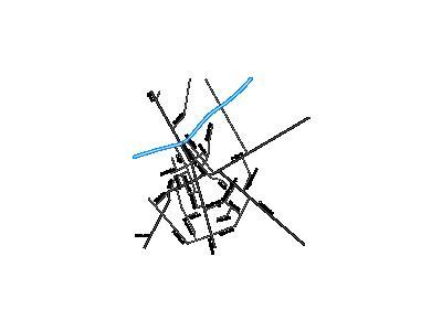 Mapa Stawisk Guziec  Symbol