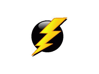 Lightning Icon Benji Par 01 Symbol