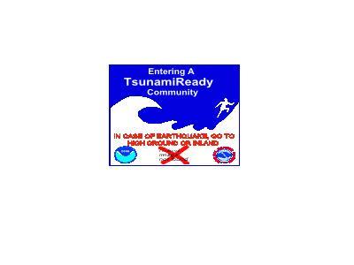 Tsunami Warning Sign Bob 01 Symbol