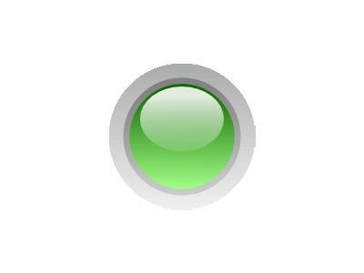 Led Circle Green Symbol
