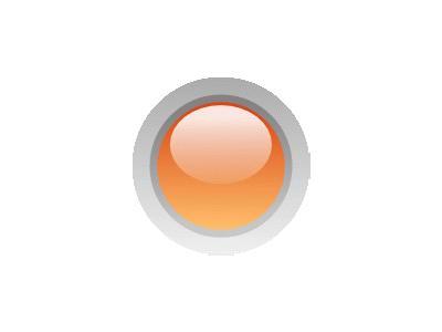 Led Circle Orange Symbol