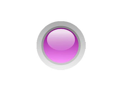 Led Circle Purple Symbol