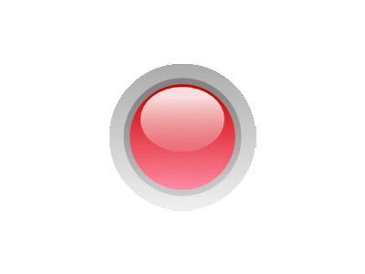 Led Circle Red Symbol