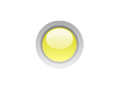 Led Circle Yellow Symbol