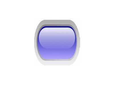 Led Rounded H Blue Symbol