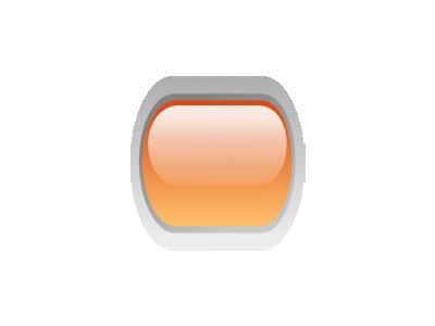 Led Rounded H Orange Symbol