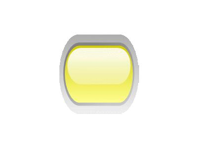 Led Rounded H Yellow Symbol