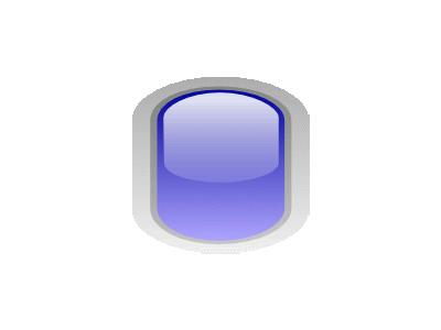 Led Rounded V Blue Symbol