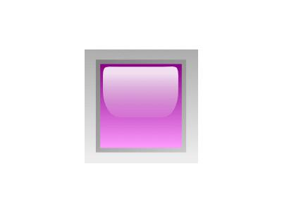 Led Square Purple Symbol