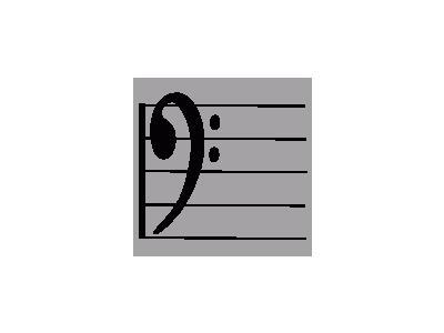 Bass Clef 01 Symbol