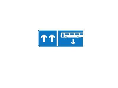 Bus Opposite Symbol