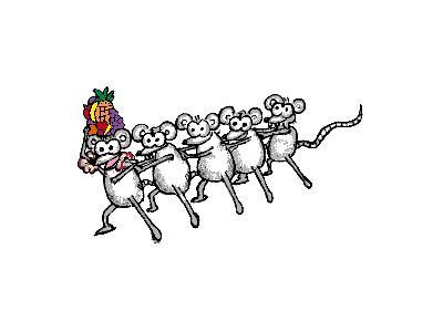 Logo Animals Rodents 004 Animated