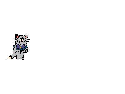 Logo Animals Rodents 015 Animated