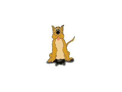 Logo Animals Dogs 025 Animated
