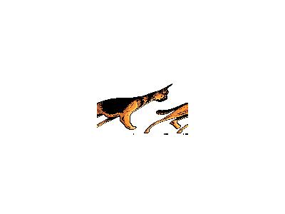 Logo Animals Dogs 028 Animated