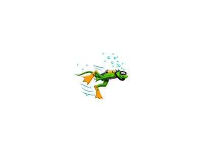 Logo Animals Reptiles 056 Animated