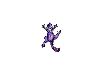 Logo Animals Reptiles 050 Animated