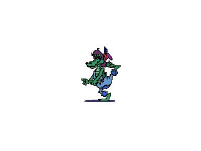 Logo Animals Reptiles 019 Animated