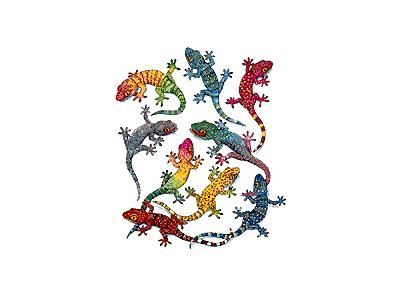 Logo Animals Reptiles 052 Animated
