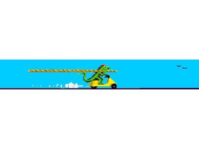 Logo Animals Reptiles 054 Animated