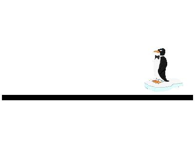Logo Animals Penguins 001 Animated
