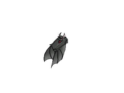 Logo Animals Bats 011 Animated